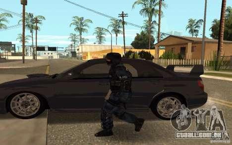 Alternative urban para GTA San Andreas quinto tela