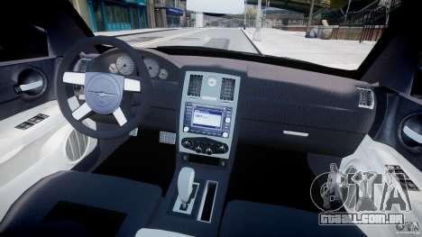 Chrysler 300C SRT8 Tuning para GTA 4 vista direita