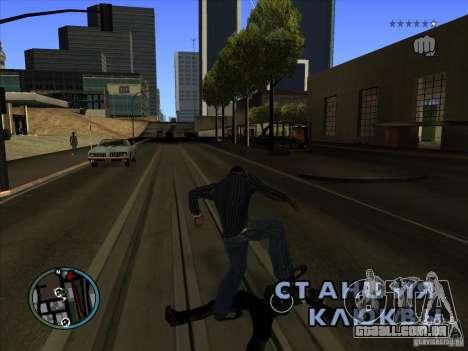 GTA IV TARGET SYSTEM 3.2 para GTA San Andreas por diante tela
