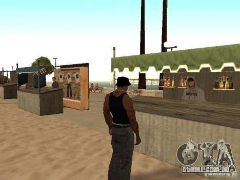 Mercado na praia para GTA San Andreas sexta tela