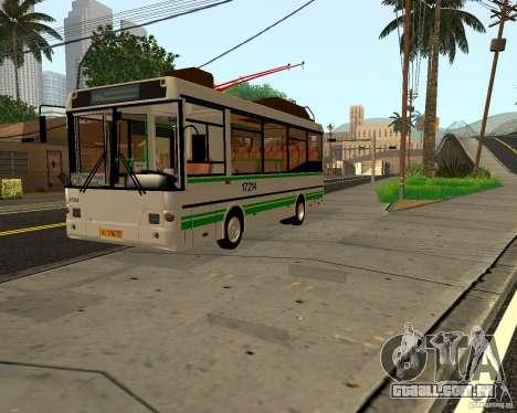 SULCO MTRZ 3237 para GTA San Andreas esquerda vista
