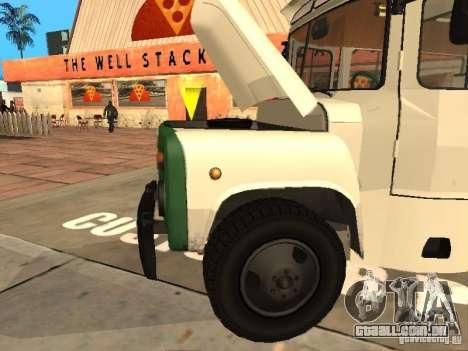 685 Kavz para GTA San Andreas vista traseira