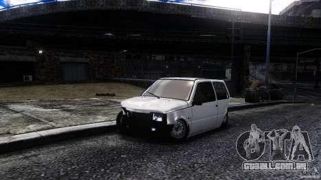 VAZ 1111 Oka para GTA 4 vista de volta