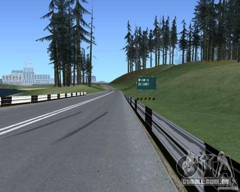 Estrada sinais v 1.1 para GTA San Andreas terceira tela