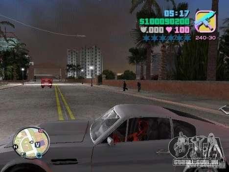 Deadpool para GTA Vice City terceira tela