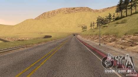 New HQ Roads para GTA San Andreas décimo tela