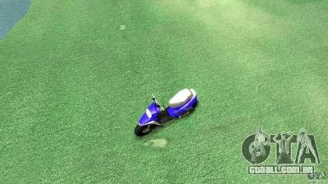 Yamaha MBK Booster para GTA 4 vista direita