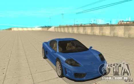 Turismo de GTA 4 para GTA San Andreas
