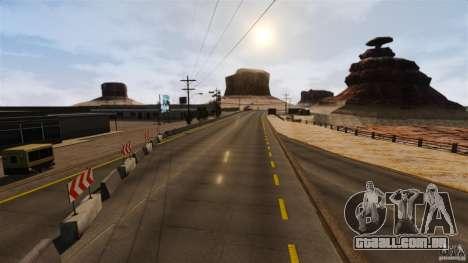 Ambush Canyon para GTA 4 por diante tela