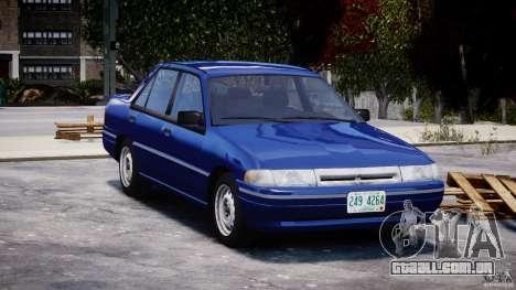 Mercury Tracer 1993 v1.0 para GTA 4 vista interior