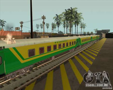Carro de passageiros n. º 05808915 para GTA San Andreas