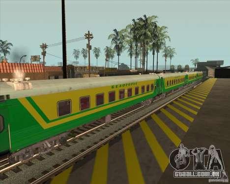 Carro de passageiros n. º 05808915 para GTA San Andreas vista direita