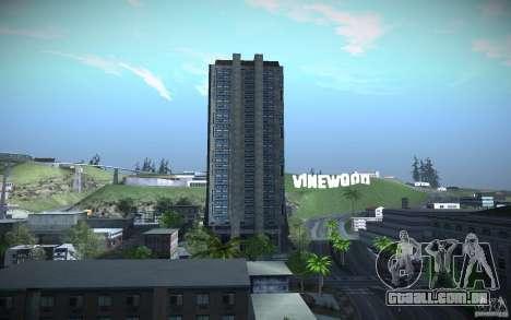 Arranha-céus de HD para GTA San Andreas quinto tela