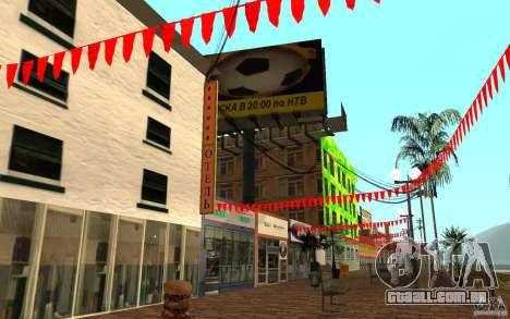 Nova rua da praia para GTA San Andreas