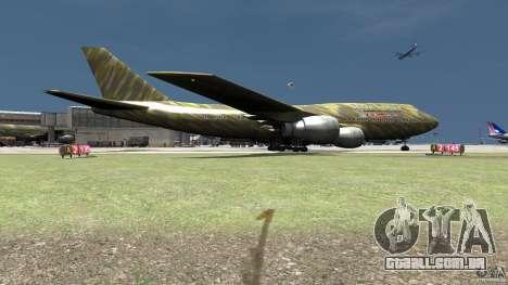 Airbus Military Mod para GTA 4 traseira esquerda vista