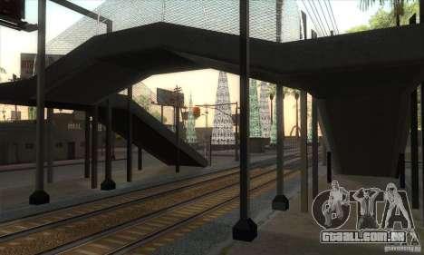 Russian Rail v2.0 para GTA San Andreas sexta tela