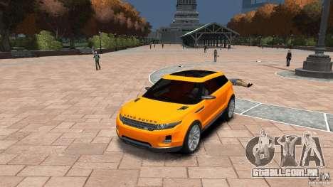 Range Rover LRX 2010 para GTA 4