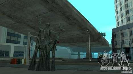 Estátua de Skyrim para GTA San Andreas segunda tela