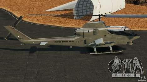 Bell AH-1 Cobra para GTA 4 esquerda vista