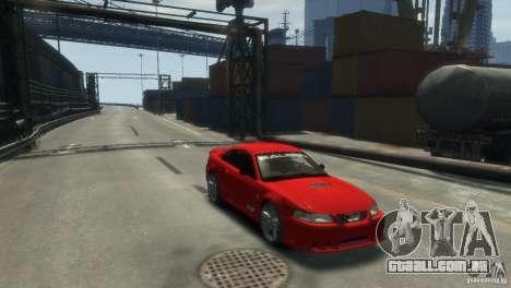 SALEEN S281 para GTA 4 traseira esquerda vista