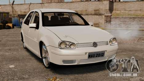 Volkswagen Golf Flash Edit para GTA 4
