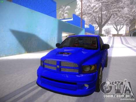 Dodge Ram SRT-10 para GTA San Andreas