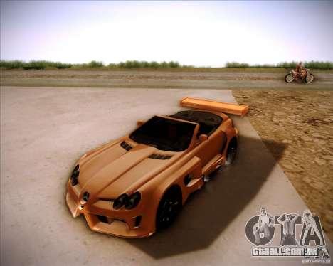 Mercedes-Benz SLR-Mclaren 722 Cabrio Tuned para GTA San Andreas