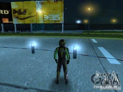 Falken Monster Energy PED para GTA San Andreas segunda tela