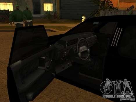 VAZ 21099 Limousine para GTA San Andreas vista direita