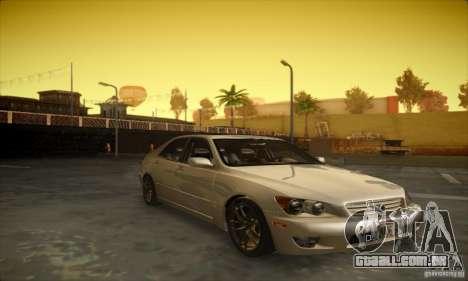 Lexus IS 300 para GTA San Andreas esquerda vista