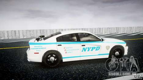 Dodge Charger NYPD 2012 [ELS] para GTA 4 vista interior