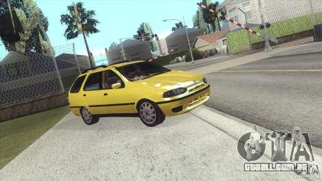 Fiat Palio Weekend 1997 para GTA San Andreas traseira esquerda vista