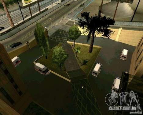 Priparkovanyj transporte v 3,0-de-Final para GTA San Andreas oitavo tela