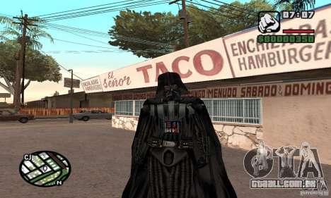 Darth Vader para GTA San Andreas