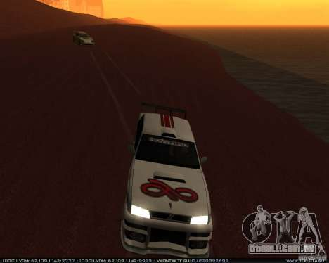 Novos vinis no Sultan para vista lateral GTA San Andreas