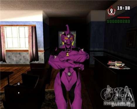 Guyver-I Demo para GTA San Andreas por diante tela