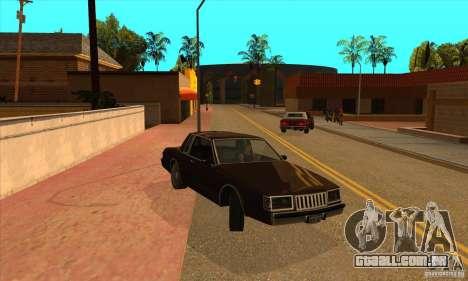 God car mod para GTA San Andreas terceira tela