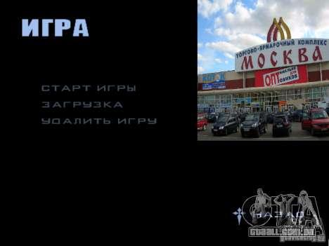 Tela de boot Moscou para GTA San Andreas décima primeira imagem de tela