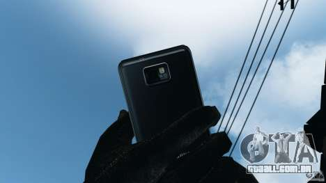 Samsung Galaxy S2 para GTA 4 sétima tela