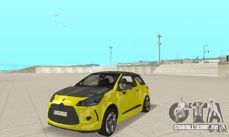 Citroen Ds3 Sport 2011 para GTA San Andreas