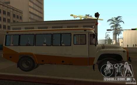 Kavz 3976 KAVZOZIL para GTA San Andreas vista interior