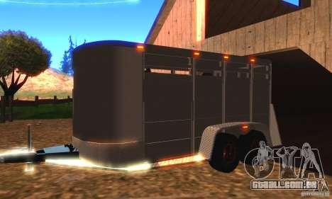 Trailer para o Chevrolet Silverado 2012 para GTA San Andreas