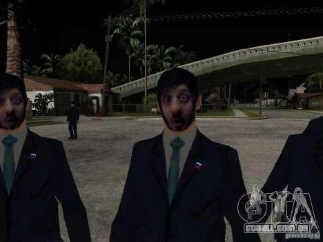 Abutre-barbudo ou Galustyan para GTA San Andreas