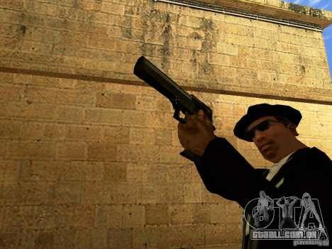 Desert Eagle MW3 para GTA San Andreas sexta tela