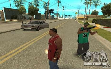 Grove Street Skin Pack para GTA San Andreas sétima tela