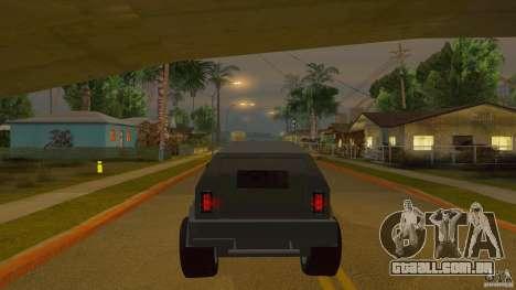 Gurkha LAPV para GTA San Andreas vista direita