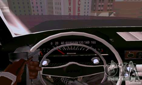 Moskvich 412 para vista lateral GTA San Andreas