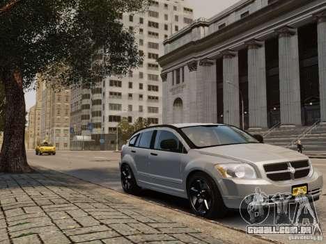 Dodge Caliber para GTA 4 traseira esquerda vista