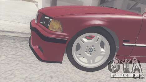 BMW e36 M3 Compact para GTA San Andreas vista direita
