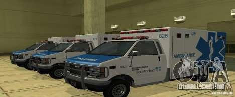 Ambulância de GTA 4 para GTA San Andreas